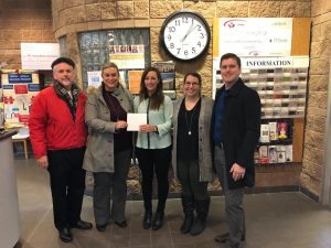 Team Weir Supports CFB Trenton Military Family Resource Centre
