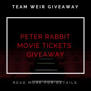 Peter Rabbit Ticket Giveaway