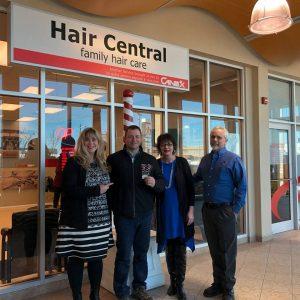 Team Weir Supports Hair Central