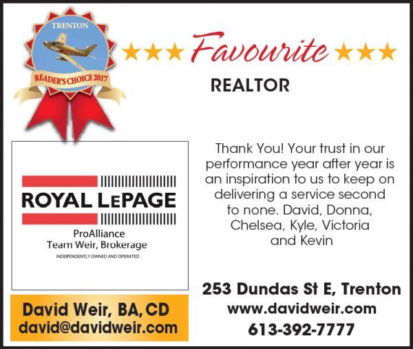 Reader's Choice Award - Favourite Realtor®